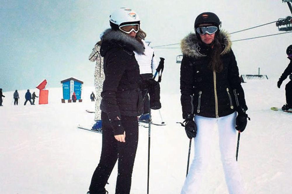 BAŠKARENJE NA ALPAMA: Emina na zimovanje spiskala 15.000 evra