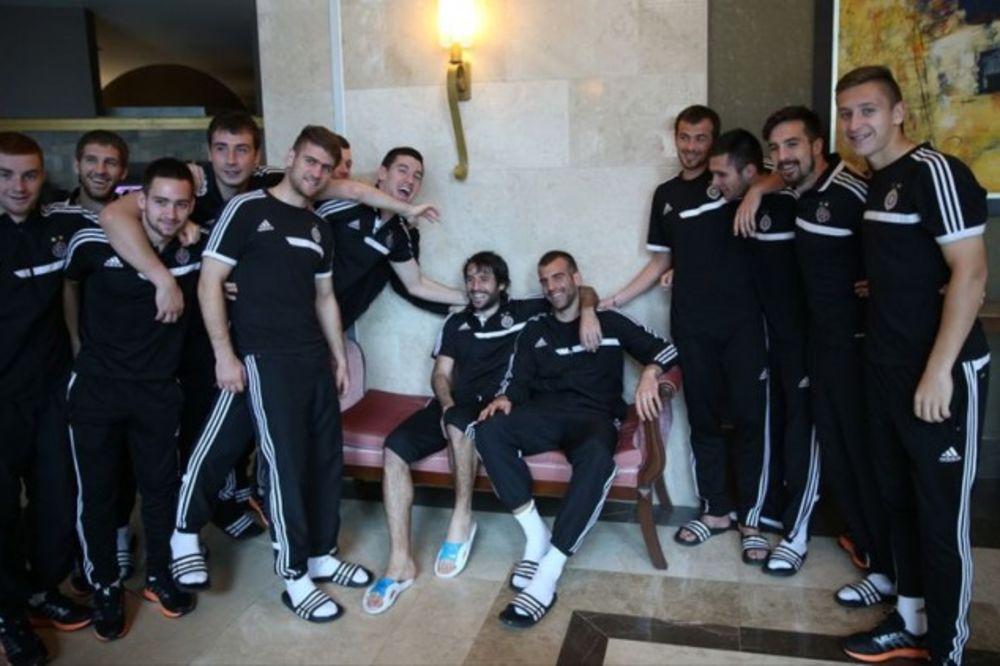 POSLE TUČE SA BABOVIĆEM: Škuletić nervozan što su ga zadržali u Partizanu