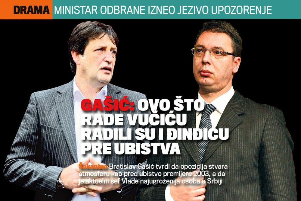 Vesti - DANAS U KURIRU ŠOKANTNO UPOZORENJE MINISTRA: Ovo što rade Vučiću radili su i Đinđiću pre ubistva!