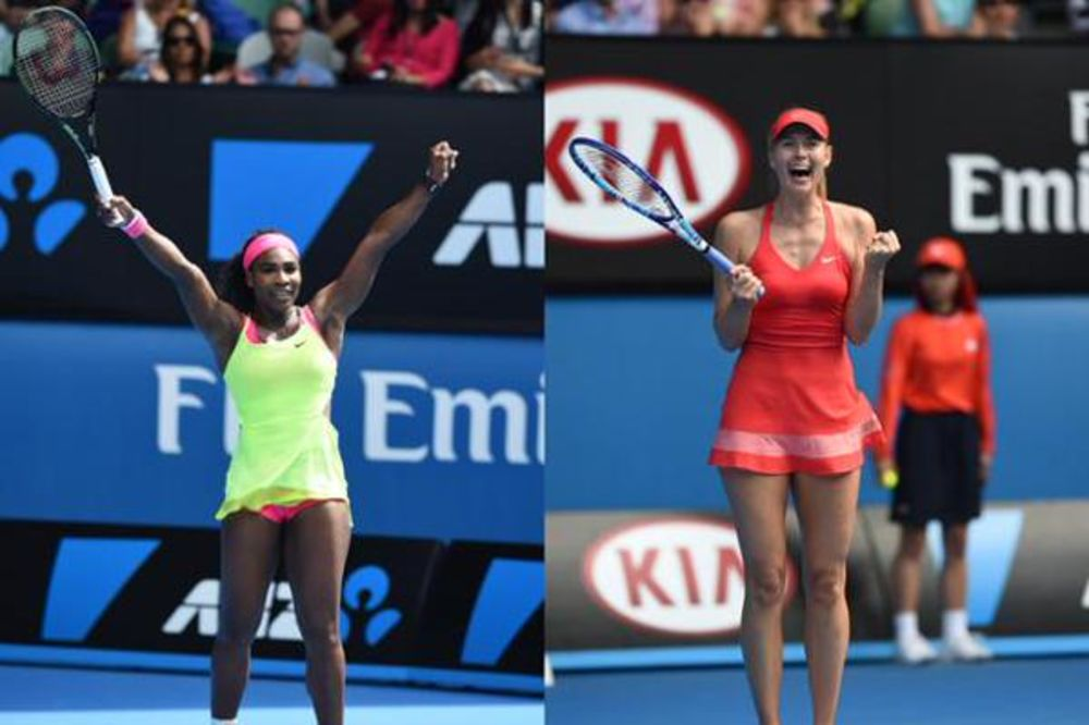 BLOG UŽIVO: Marija Šarapova i Serena Vilijams u finalu AO