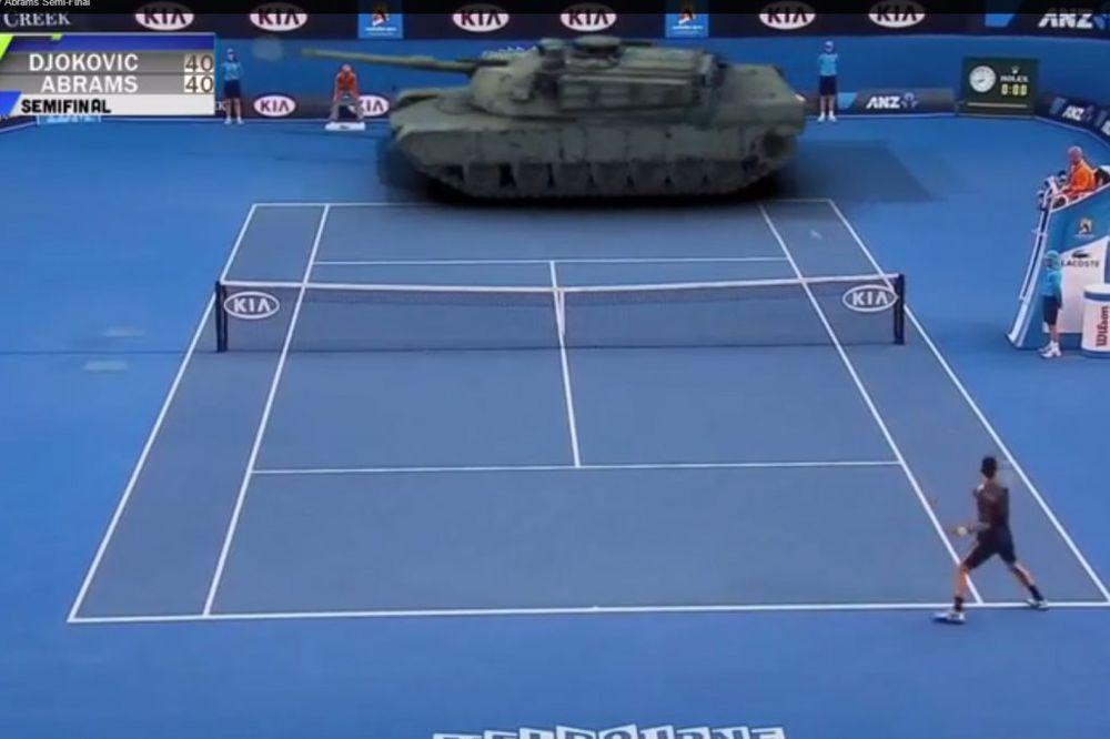 (VIDEO) JAČI I OD TENKA: Abrams ubio Đokovića jer nije mogao da ga pobedi