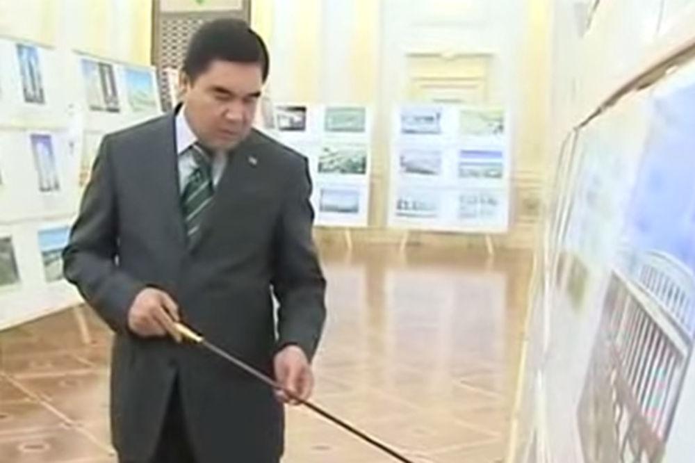 DOVEKA PREDSEDNIK:Turkmenistan razmatra doživotni mandat za šefa države