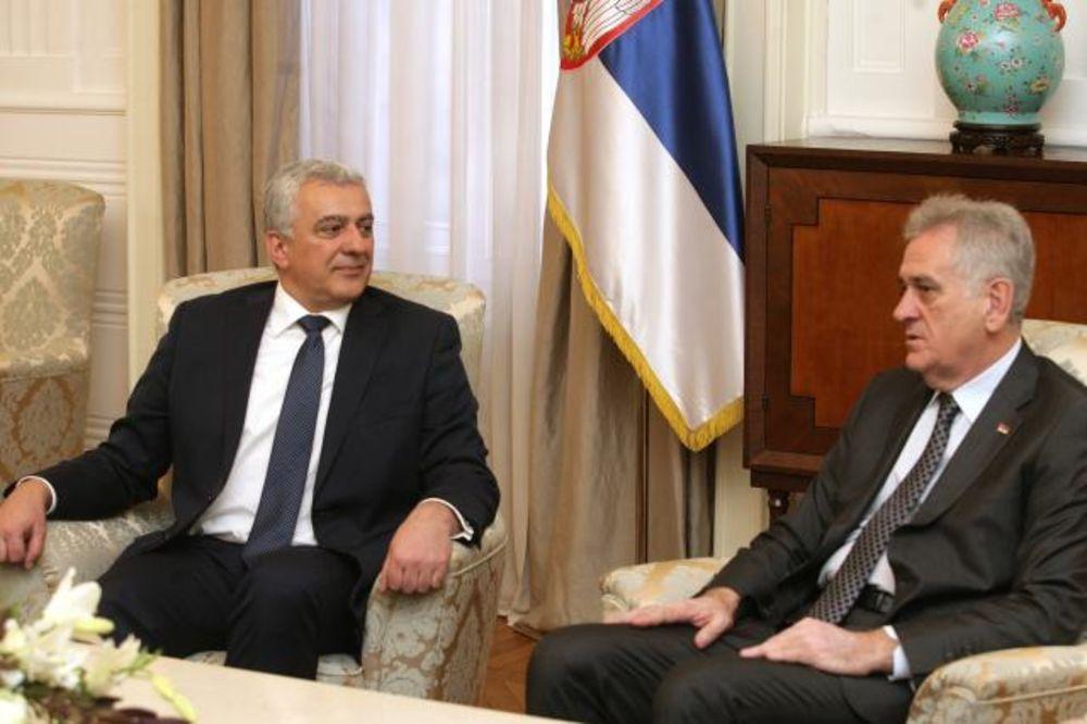 NIKOLIĆ PRIMIO MANDIĆA: Obaveza Srbije je da brine o svim Srbima