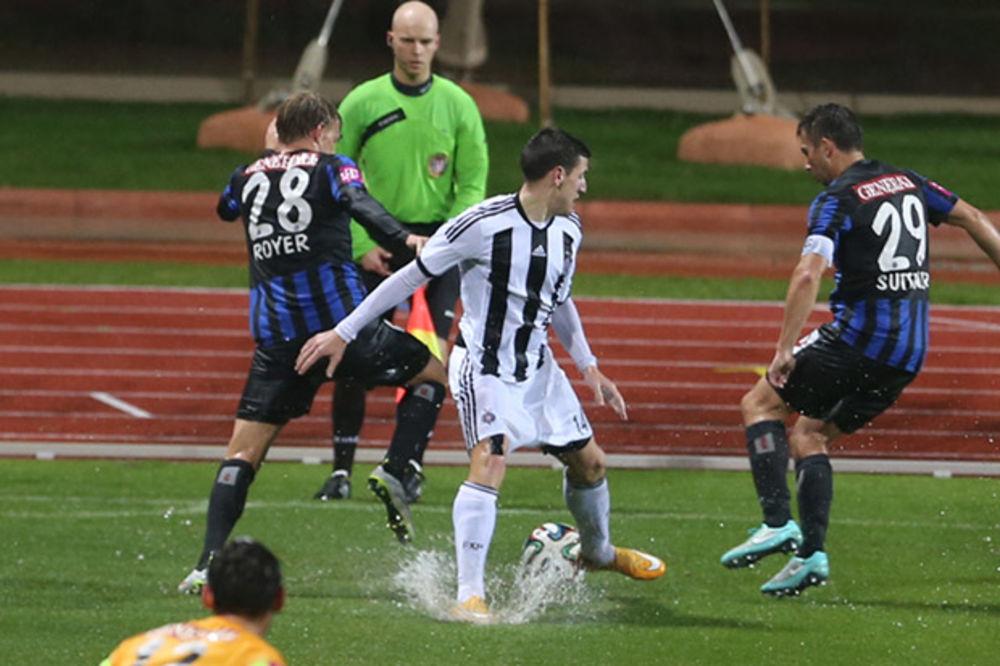 (VIDEO) ŠTA SE DEŠAVA SA CRNO-BELIMA: Partizan primio deset golova na tri utakmice