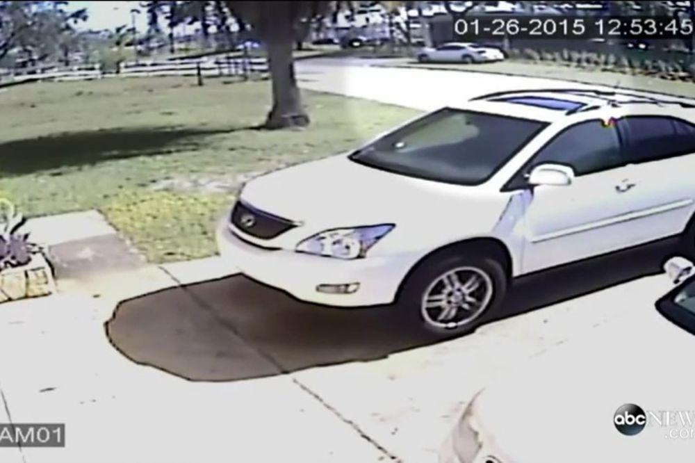 UZNEMIRUJUĆI VIDEO: Tražio od devojke da pobaci, a onda je pregazio autom!