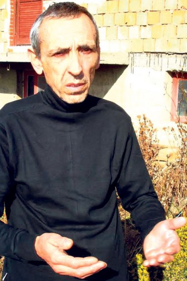 Očaj... Igorov otac Dragan