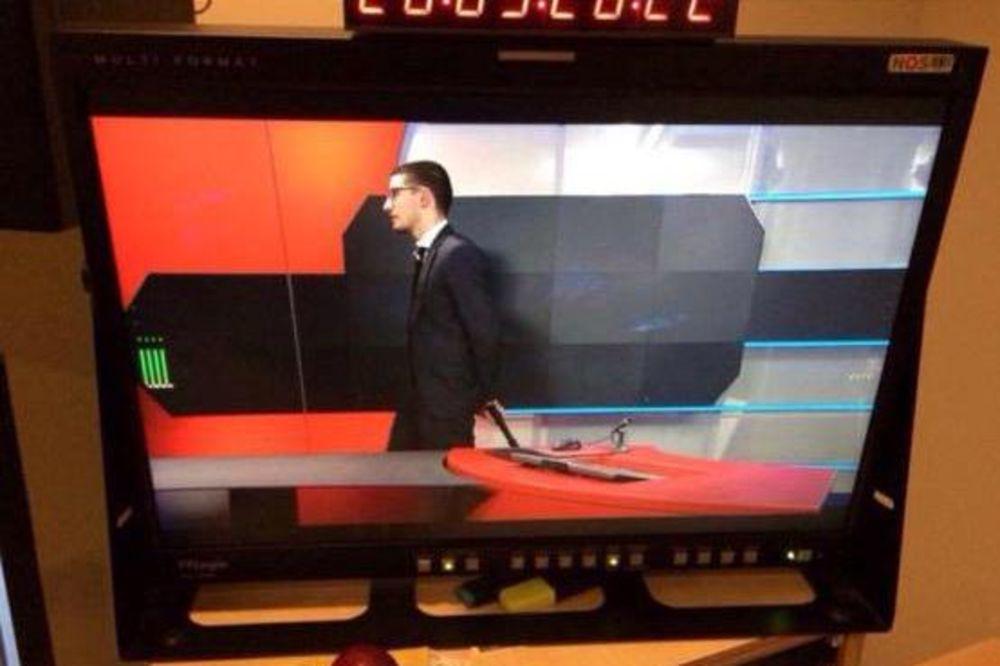 TERORISTA U ODELU I KRAVATI: Evo kako izgleda naoružani napadač koji je upao u holandsku TV!