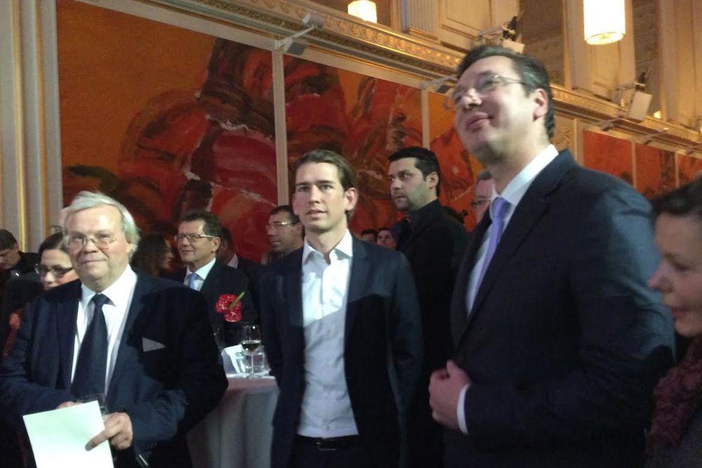 BEČKA ŠKOLA: Na prijemu u Vučićevu čast 700 zvanica srpske dijaspore