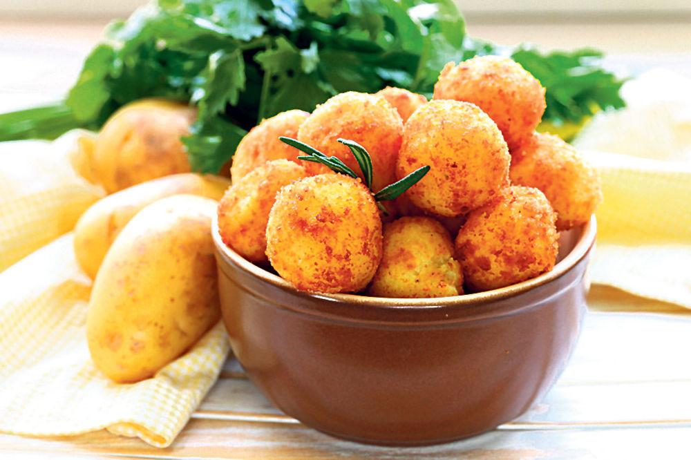 Kroketi od krompir-pirea