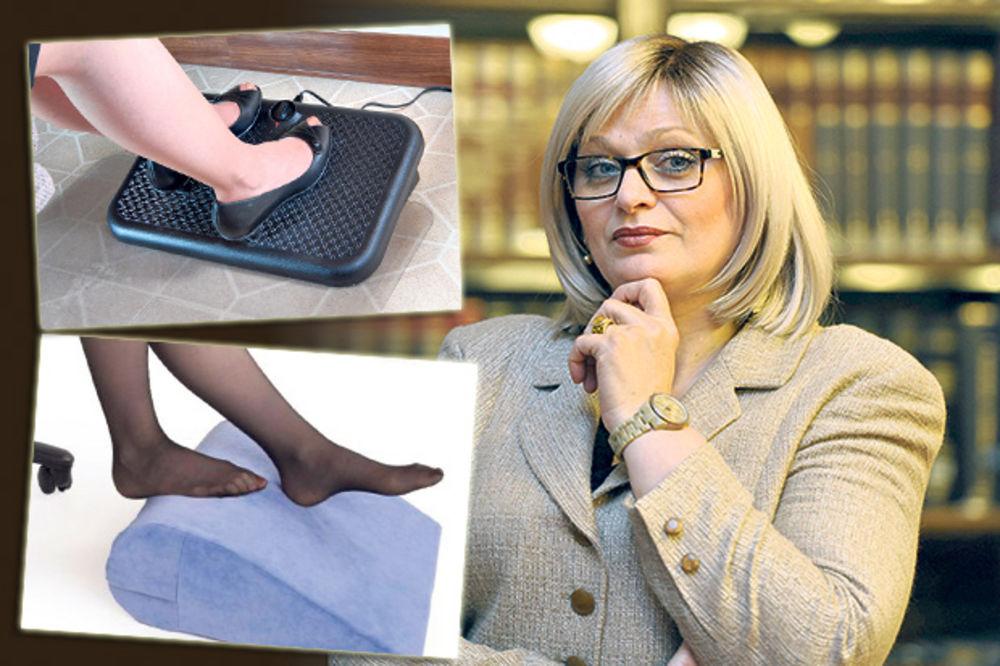 JORGOVANKA TABANOVIĆ: Guvernerka NBS kupuje 50 odmarača za stopala!