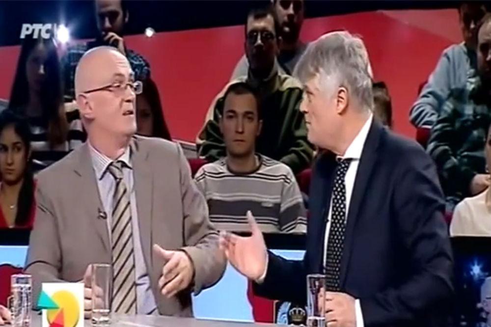 (VIDEO) TV OBRAČUN: Šabić poklopio Lazanskog njegovim tekstom