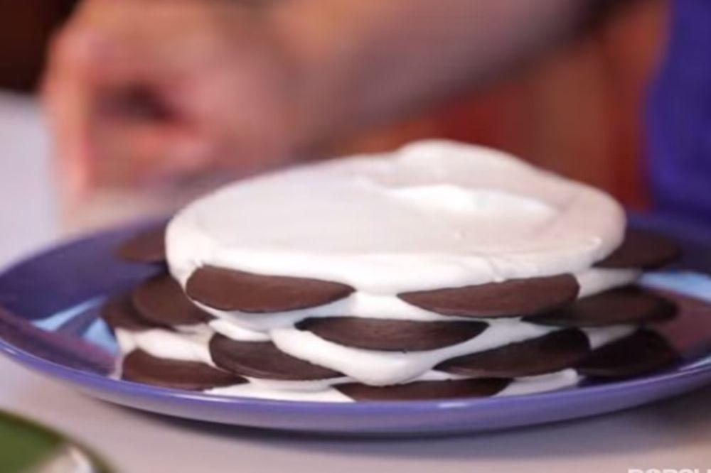 (VIDEO) TORTA ZA LENJE ŽENE: Napravite slatkiš od 5 sastojaka za 5 minuta!