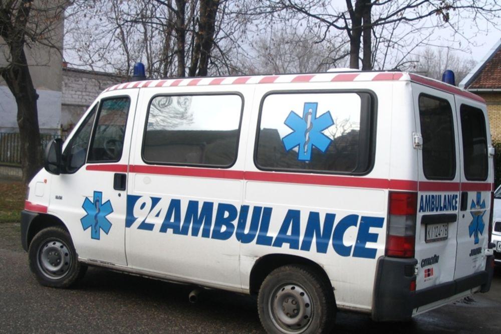 DVE SAOBRAĆAJNE NESREĆE: Četvoro povređenih u udesima, teška noć za astmatičare