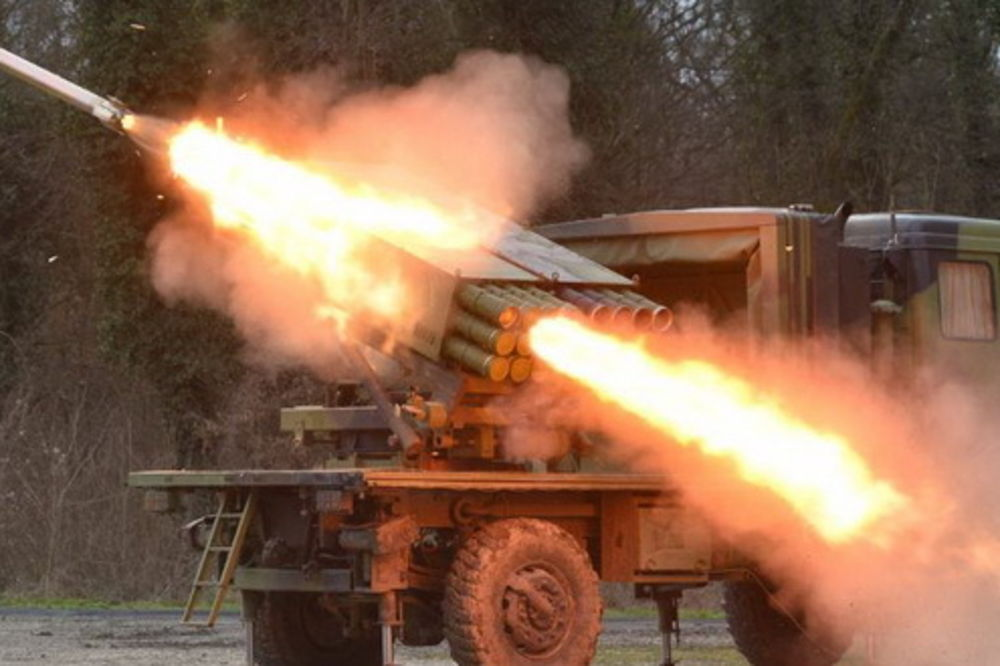 (VIDEO) VATRENA MOĆ: Vojska Srbije prikazala snagu raketnog sistema Morava