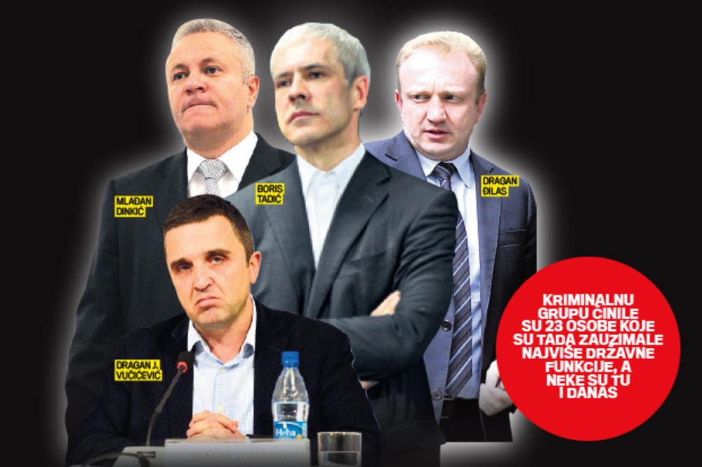RAZOTKRIVANJE: Krivična prijava protiv Tadića, Đilasa i Dinkića