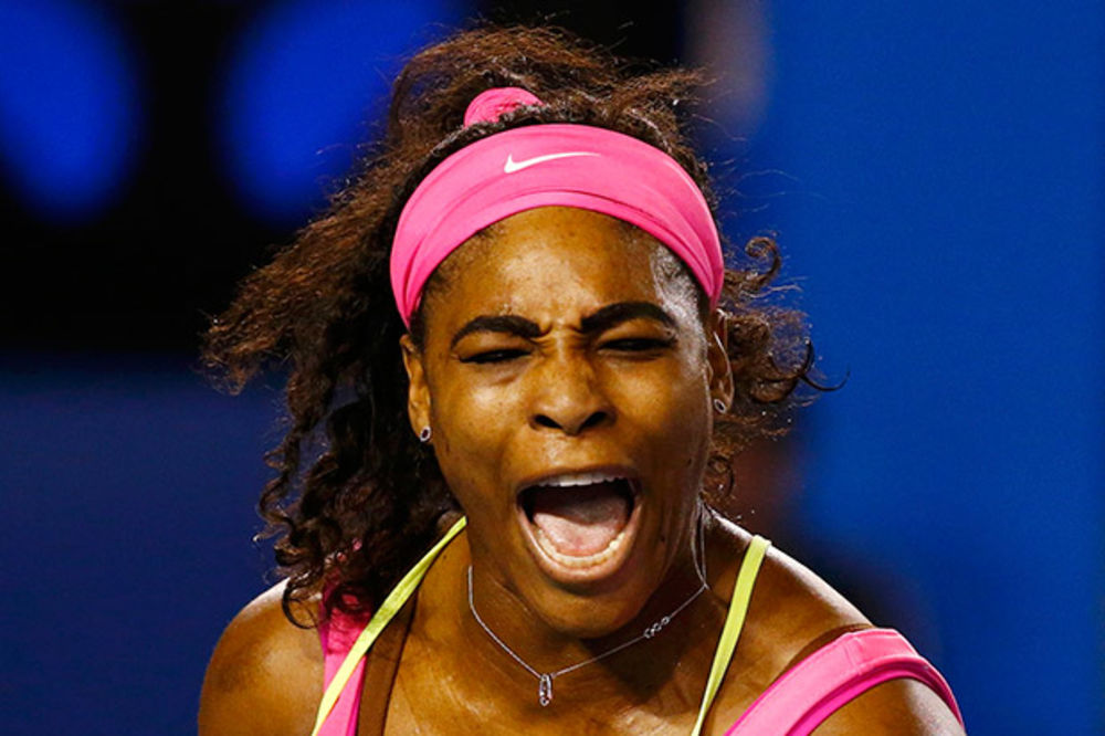 (VIDEO) OVO SE ZOVE RADOST: Pogledajte kako je Serena Vilijams proslavila titulu u Melburnu