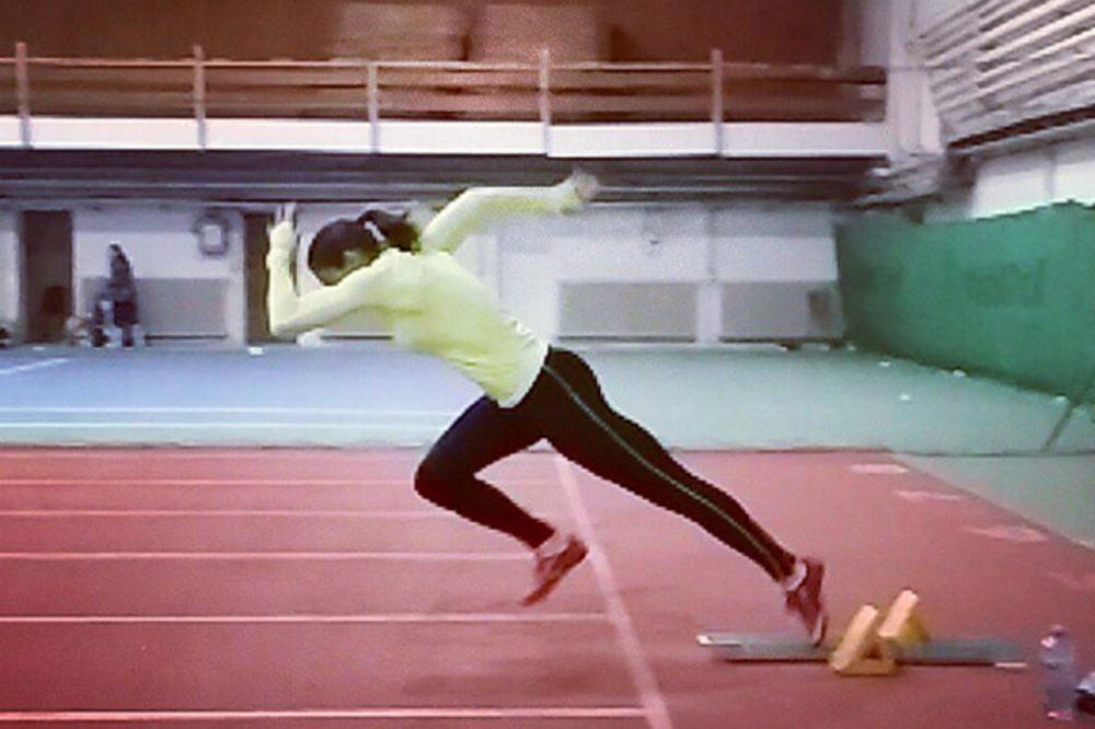 BRŽA OD VETRA: Ivana Španović postavila novi rekord na 60 metara u sali