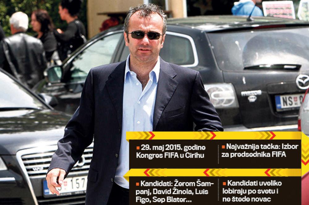 DEJO IMA FAVORITA ZA ČELO FIFA: Vreme je za Figa, Blater je baš mator