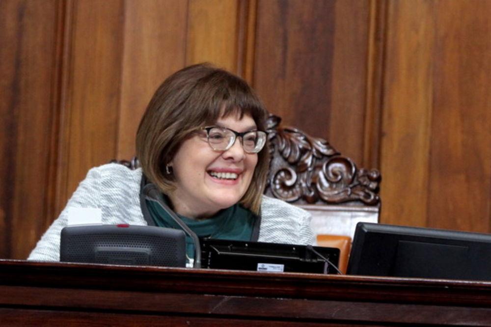 Gojkovićeva: Mirović se izvinio, Pajtiću ne pada na pamet