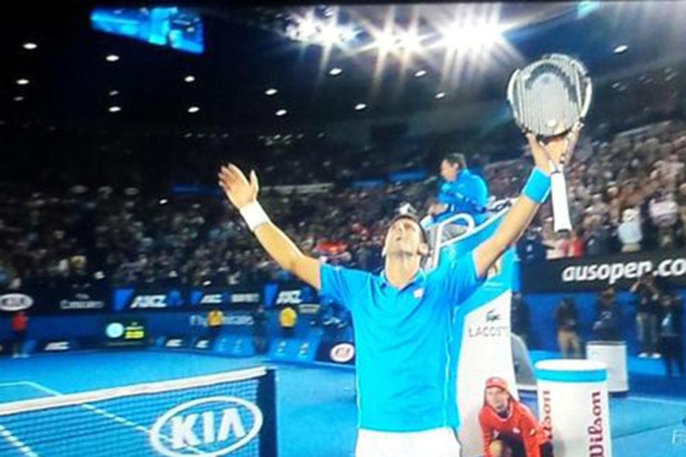 (VIDEO) Pogledajte šampionski poen Novaka Đokovića u Melburnu