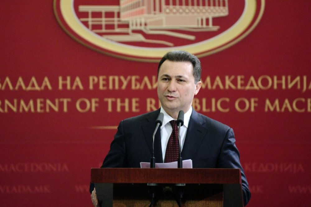 NEZAPAMĆEN SKANDAL: Gruevski prodaje Makedoniju da ostane na vlasti!