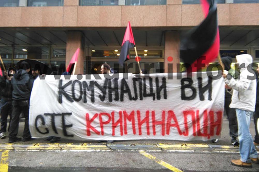 (VIDEO) PROTESTI GRAĐANA U CENTRU BGD: Traže ukidanje Komunalne policije i Bus Plusa!