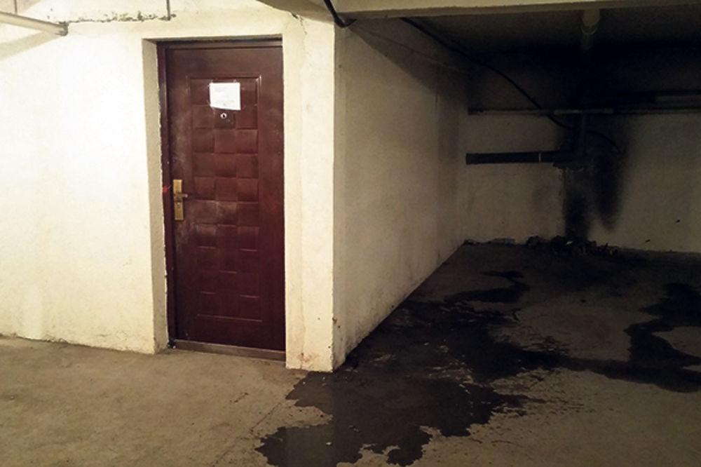 Jezivo... U ovoj magacinskoj prostoriji nađen je Mašulovićev trup