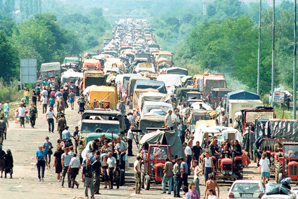 STOTINE HILJADA SRBA BEŽALO, HRVATSKI VOJNICI UBIJALI SVE ŠTO SU STIGLI:  Proterano 400.000 Krajišnika, samo se ŠAČICA VRATILA! Niko nije odgovarao za ratne zločine!