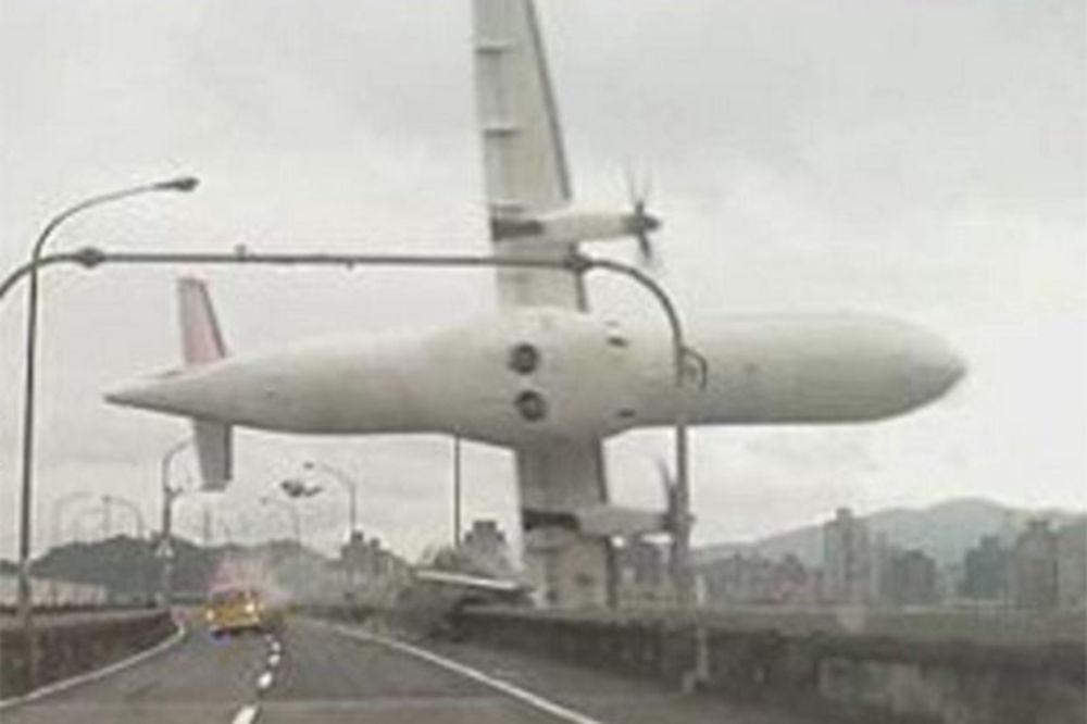 Tajvanski avion - pad