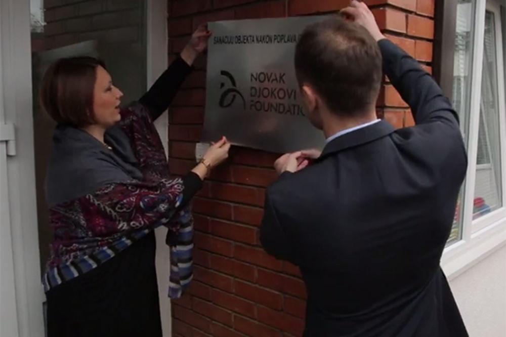 (VIDEO) UZ POMOĆ FONDACIJE NOVAK ĐOKOVIĆ: Otvoren obnovljeni vrtić Veseljko u Obrenovcu