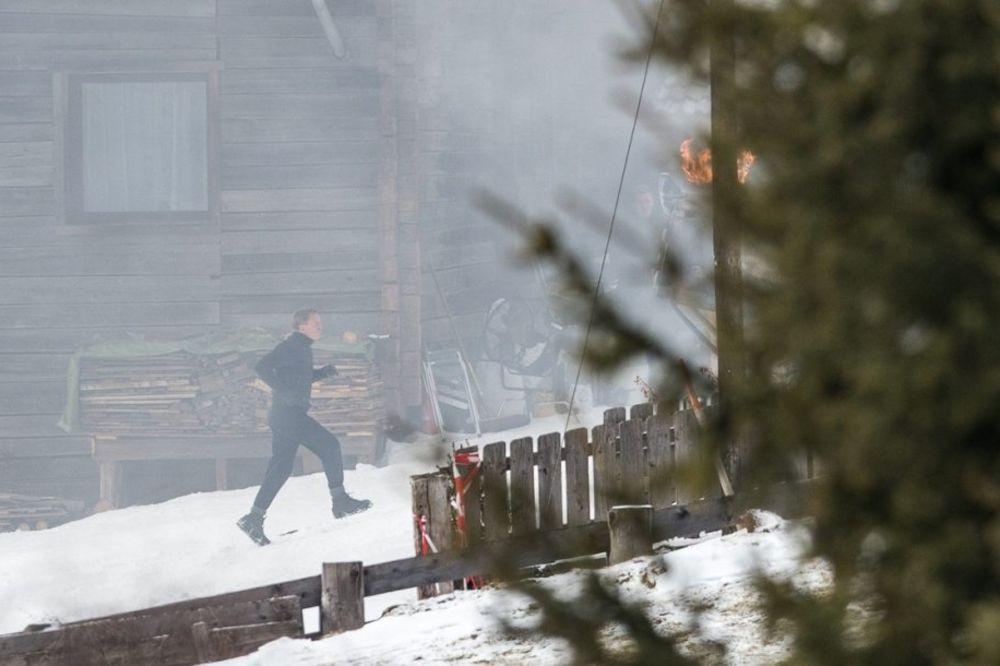 POVREDIO SE AGENT 007: Prekinuto snimanje filma o Džejmsu Bondu