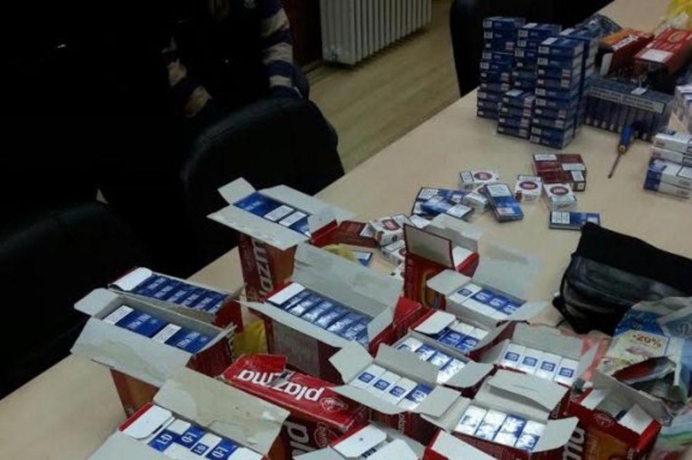 ŠVERC: Na Ðerdapu zaplenili 2.000 boksova cigareta!