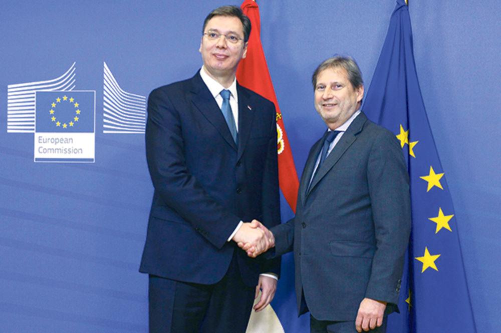 IMPRESIONIRAN: Evropski komesar Han čestitao Srbiji završetak skrininga