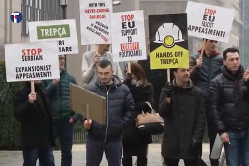 SKANDAL U BRISELU: Albanac s Kosova udario šamar srpskom snimatelju