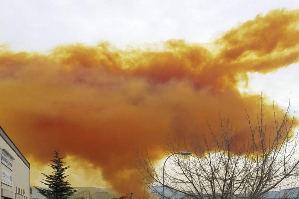 barselona zuti oblak eksplozija foto rojters