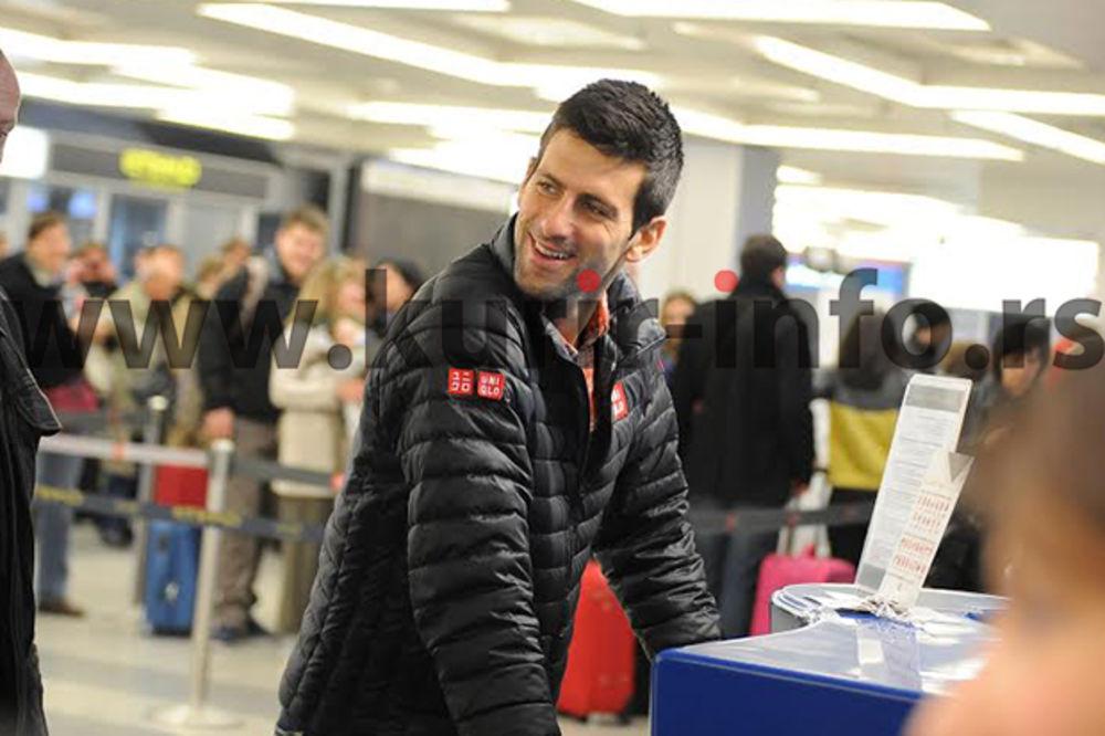 (FOTO) ĆAO BEOGRADE, ČEKA ME DUBAI: Pogledajte kako je Novak Đoković napustio Srbiju