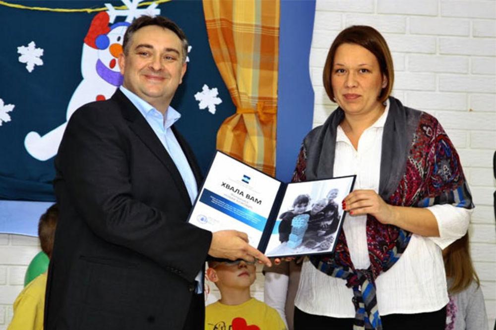 BRAVO: Fondacija Novak Đoković opremila centralni vrtić u Svilajncu