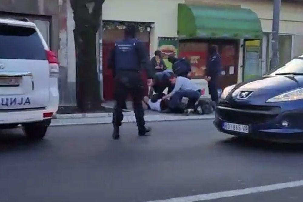 LOPOV NALETEO NA INSPEKTORA: Novosadski policajac bio van dužnosti uhvatio razbojnika!