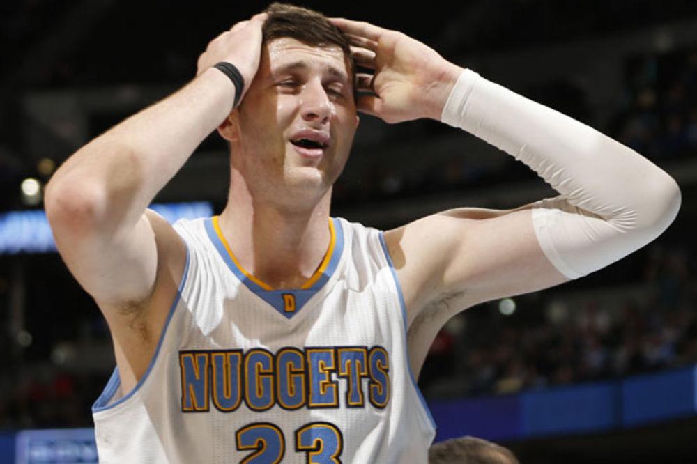 (VIDEO) NURKIĆ SE POKLONIO MALOJ MILICI (8): Zvezda Granda raspametila košarkaša Denvera