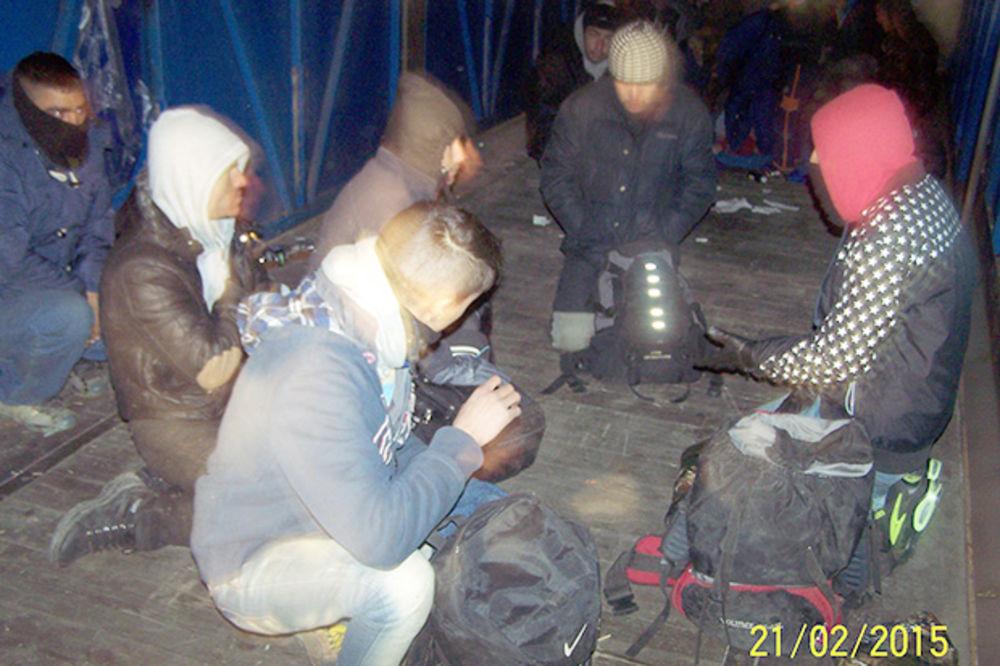 USPEH SRPSKIH CARINIKA: Uhvaćeno 16 ilegalaca iz Avganistana