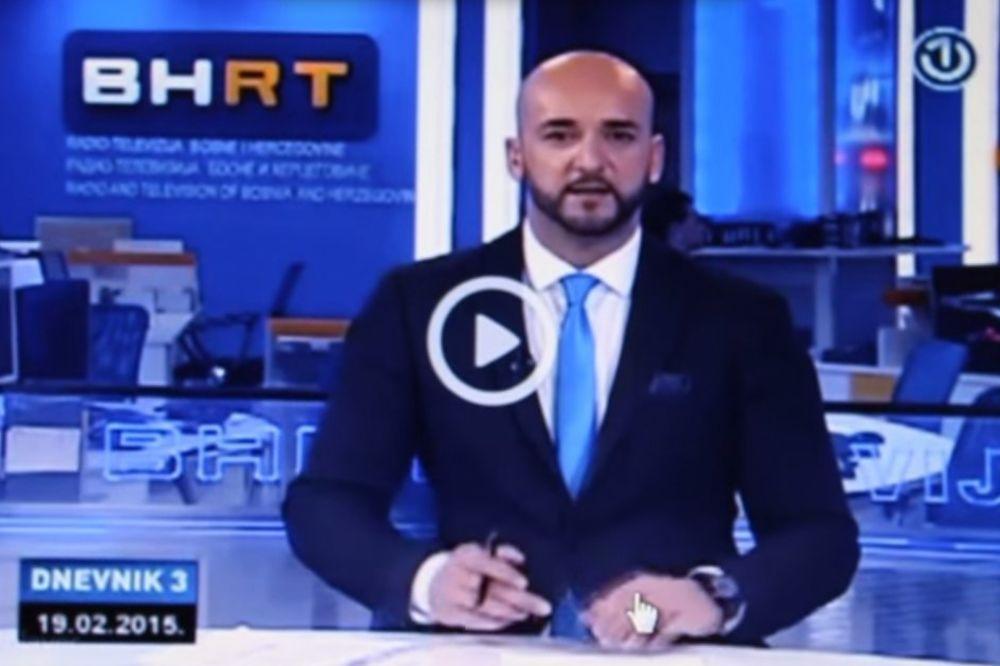 (VIDEO) ZAVIDNO POZNAVANJE TENISA: Pogledajte kako je novinar BiH televizije pročitao vest