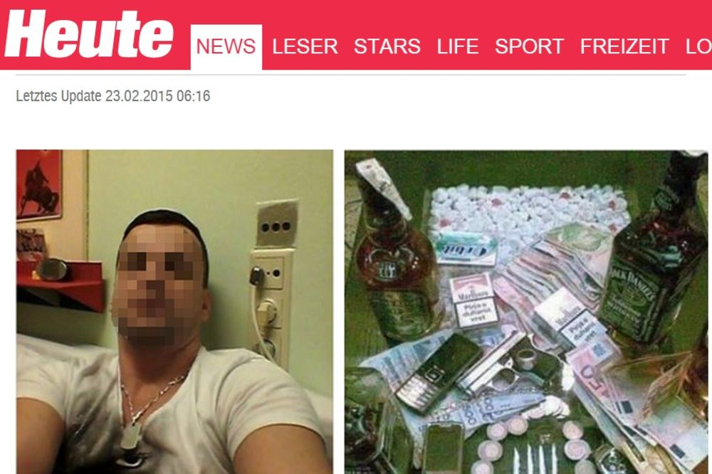(FOTO) ALBANAC GAZDA U AUSTRIJSKOM ZATVORU: Droge na kilo, viski, mobilni, oružje...!