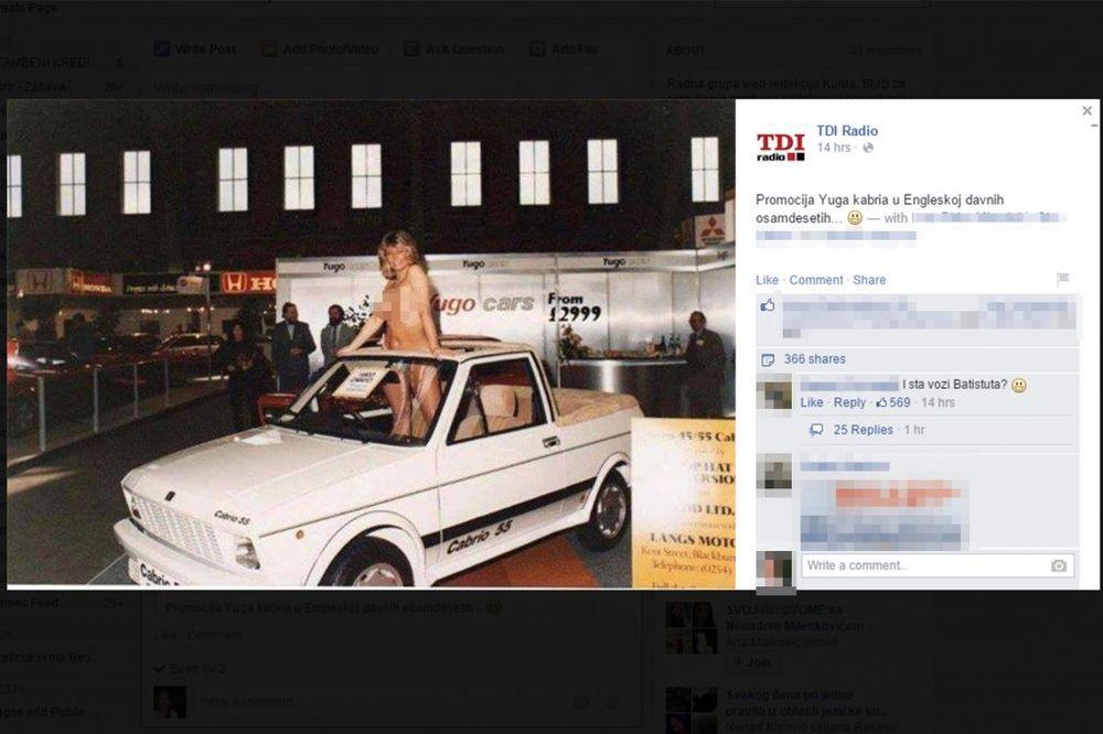18+ (FOTO) OVO ĆE VAS ŠOKIRATI! Kako se reklamirao jugo u Britaniji davnih 80-ih godina