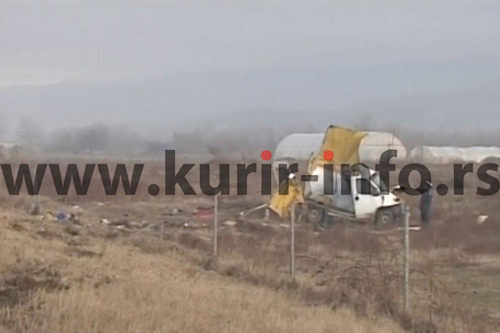 POVREĐENI IMIGRANTI: Vozač kombija smrti hteo da beži na Kosovo!