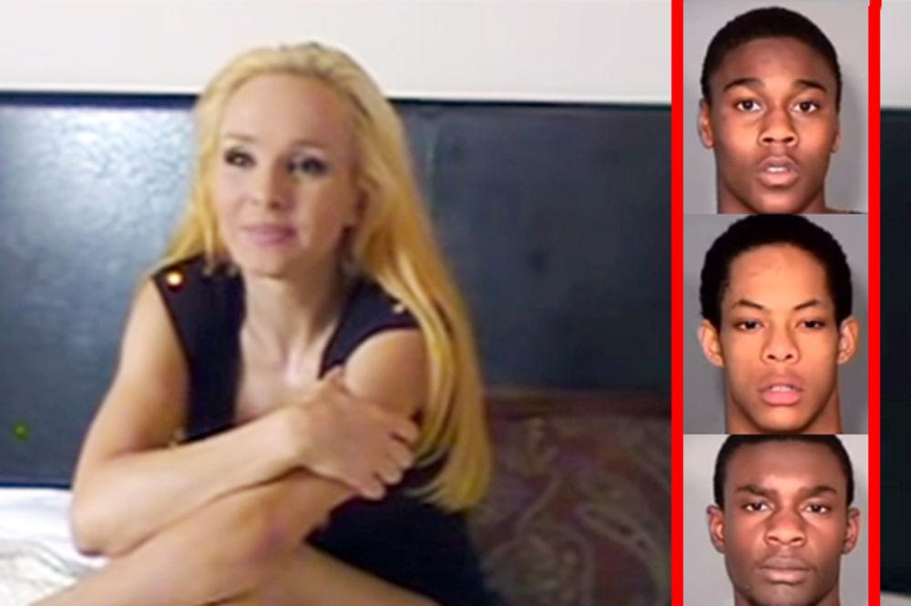(VIDEO) ZBOG OVOG ĆE NA DOŽIVOTNU: Tinejdžeri silovali porno zvezdu Sajteriju pred njenom decom