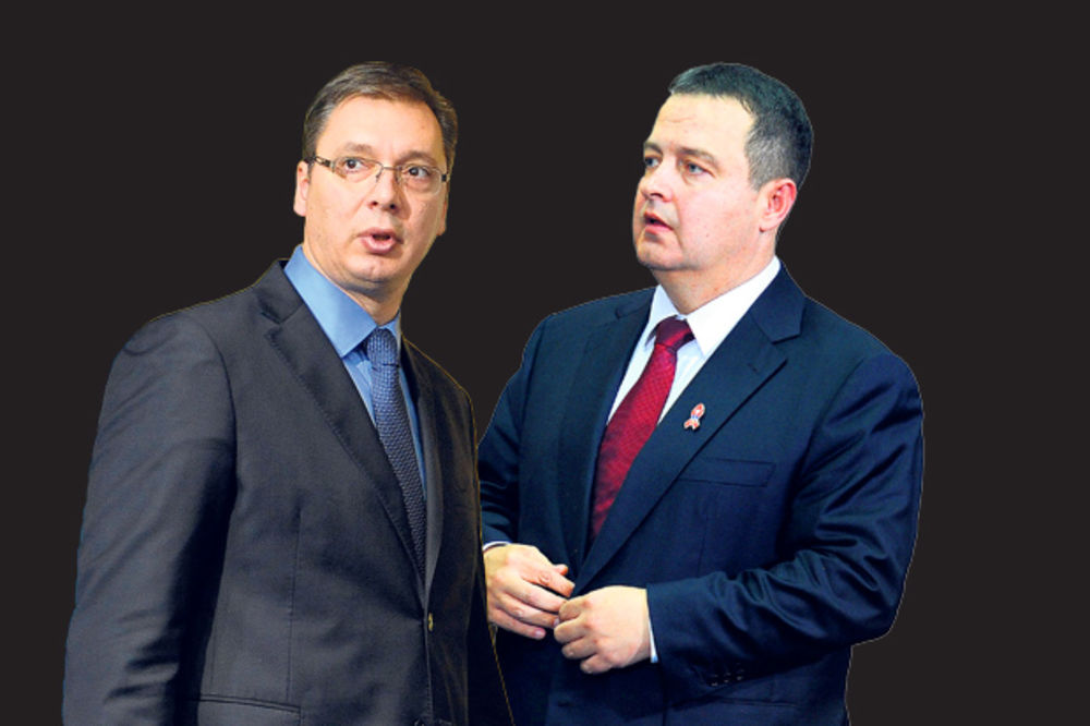 HAOS U KOALICIJI: Vučić besan na Dačića!