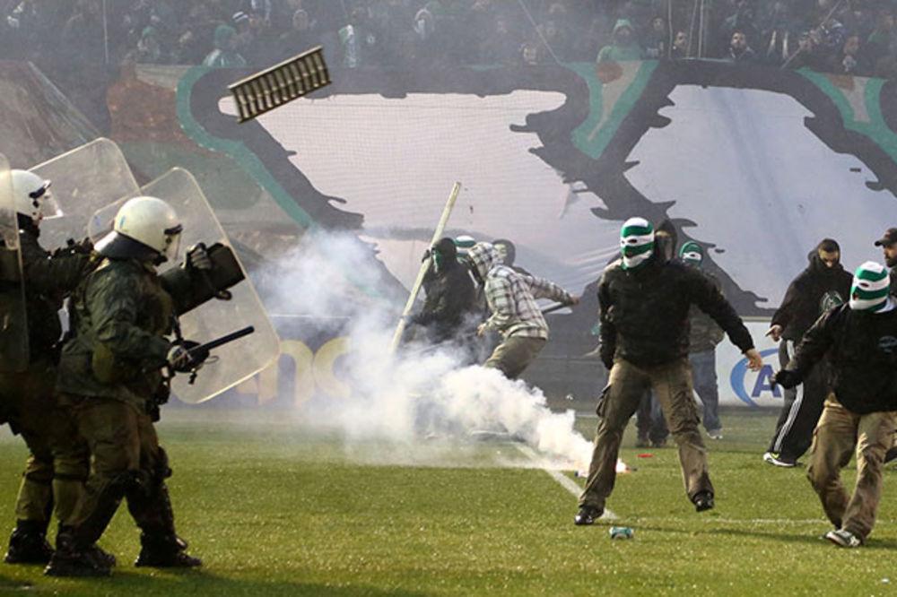 GRČKA VLADA ODLUČILA: Fudbal se igra pred praznim tribinama