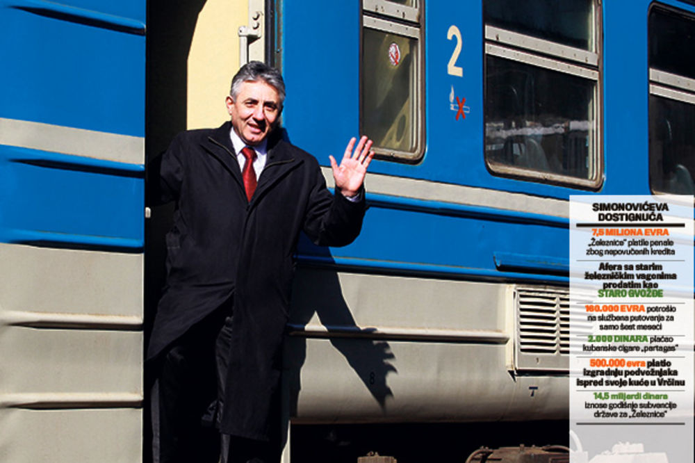 HIT: Smenili Dragoljuba Simonovića, pa ga vratili da reformiše Železnice