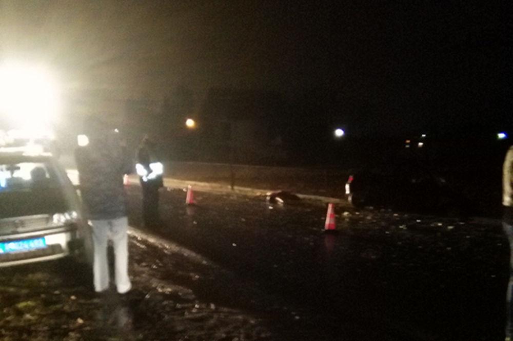 DIREKTAN SUDAR: Dva vozača poginula u udesu kod Lazarevca