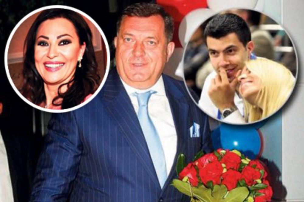 CECA PEVA NA SVADBI DODIKA: Predsednik Srpske ženi sina!